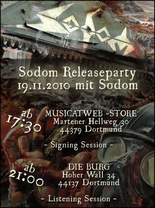 SODOM: Release Party