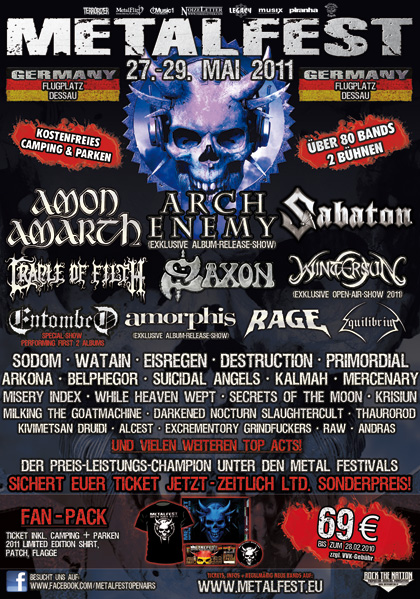 METALFEST 2011 in Dessau 27.-29.5.