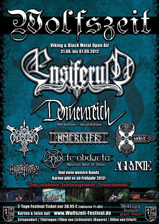 Wolfszeit-Festival 31.08.-1.9. 2012