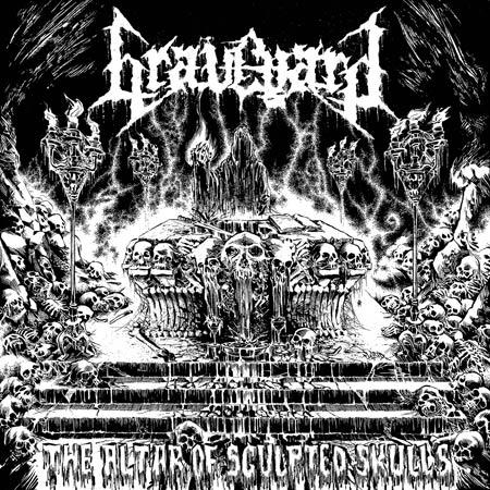 "Graveyard ""The Altar Of Sculpted Skulls"" 5/6"