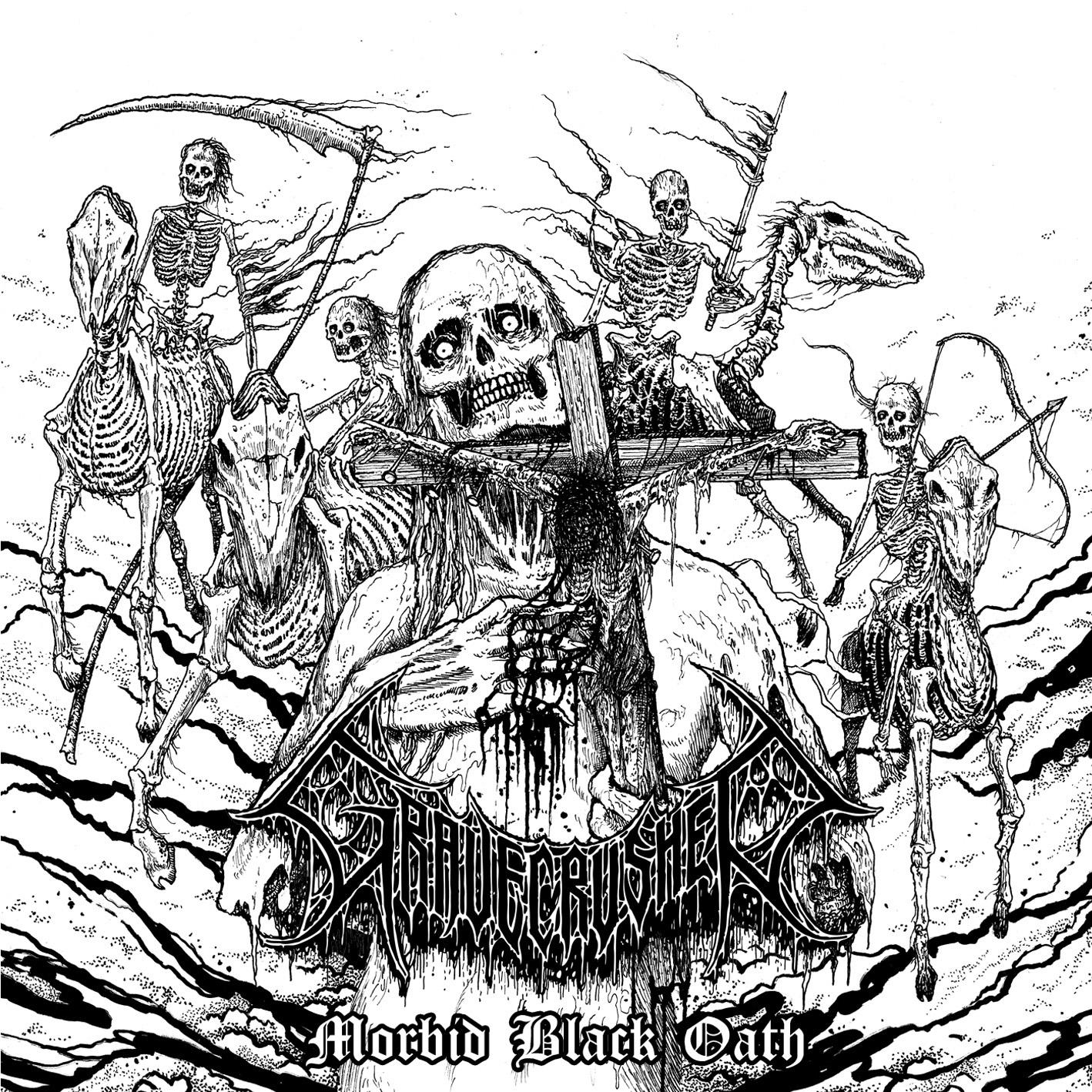 "Gravecrusher – ""Morbid Black Oath"" 4/6"
