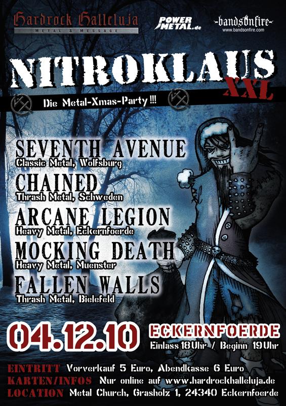 NITROKLAUS XXL: Metal Xmas-Party in Eckernförde
