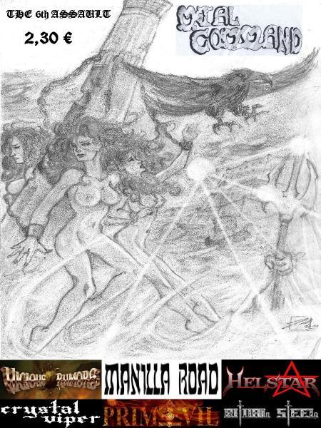 Metal Command #5 & #6
