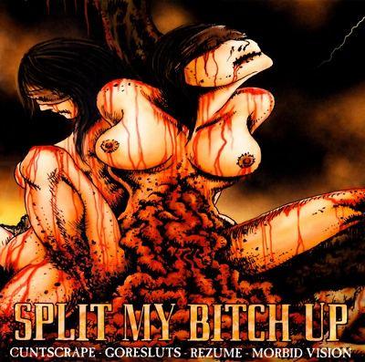 Split my bitch up 4-Band-Split-CD 3/6