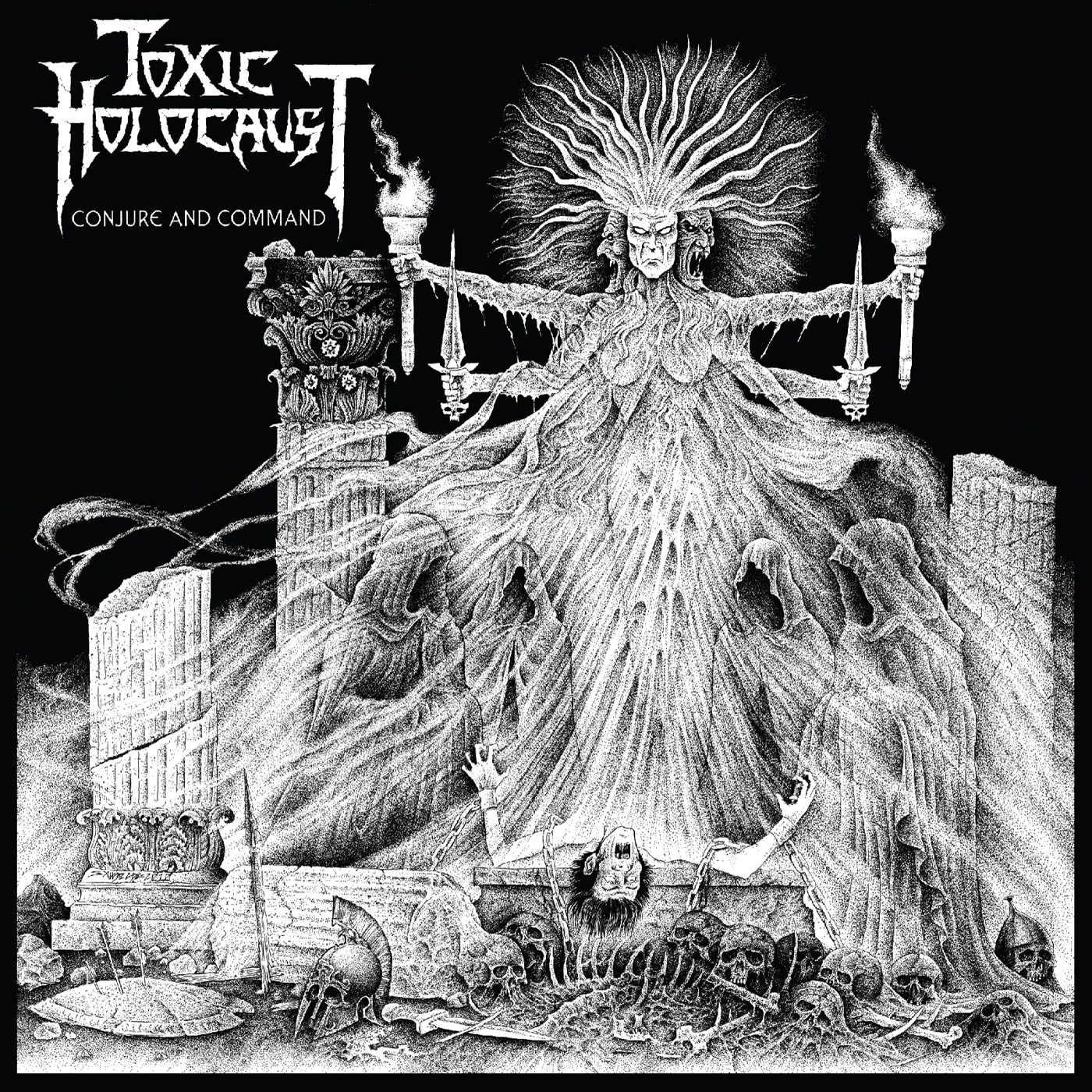 """Toxic Holocaust """"Conjure and command"""" 4/6"""
