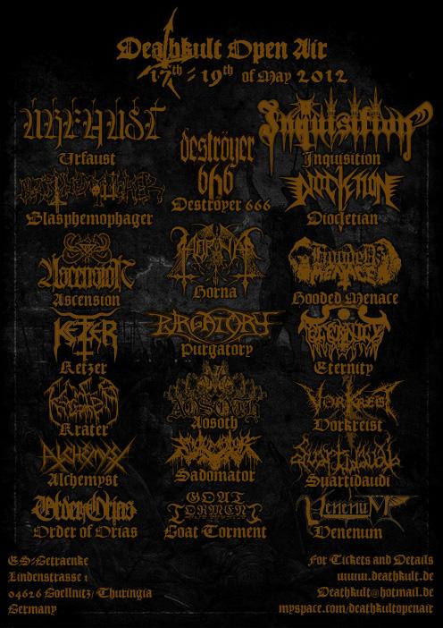Vorbericht Deathkult-Open Air 2012