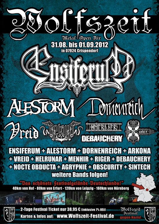 Wolfszeit-Festival: Neue Bands bestätigt