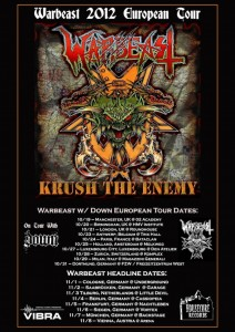Verlosung: Warbeast Tour