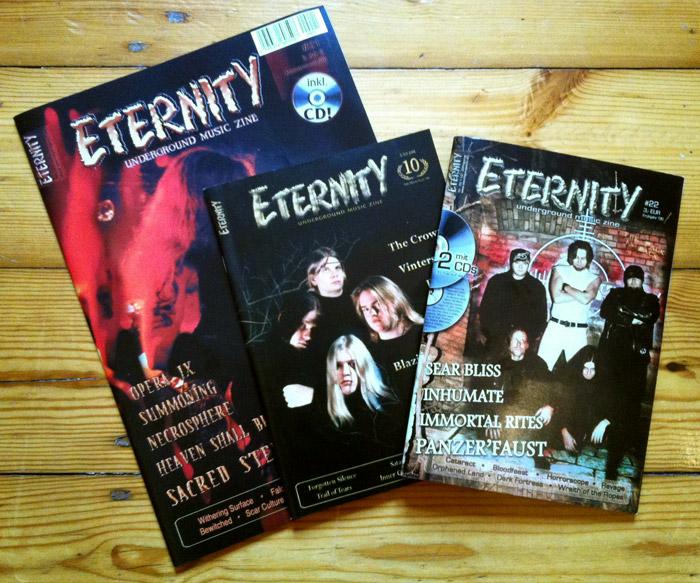 ETERNITY Nostalgie-Wochen: 3 Hefte + CD zum Sonderpreis