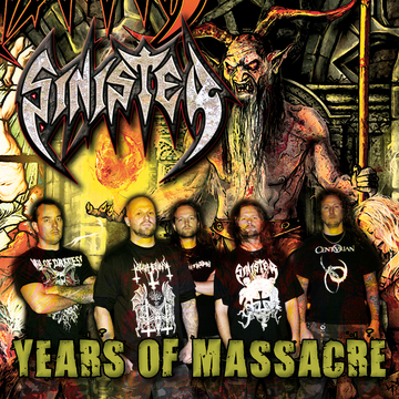 """Sinister """"Years of Massacre"""" DIGITAL-ONLY-RELEASE"""