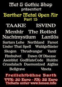 Vorbericht: Barther Metal Open Air (16. – 17. August 2013)