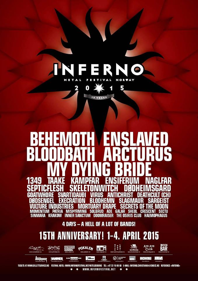 Inferno Festival 2015 – Day One