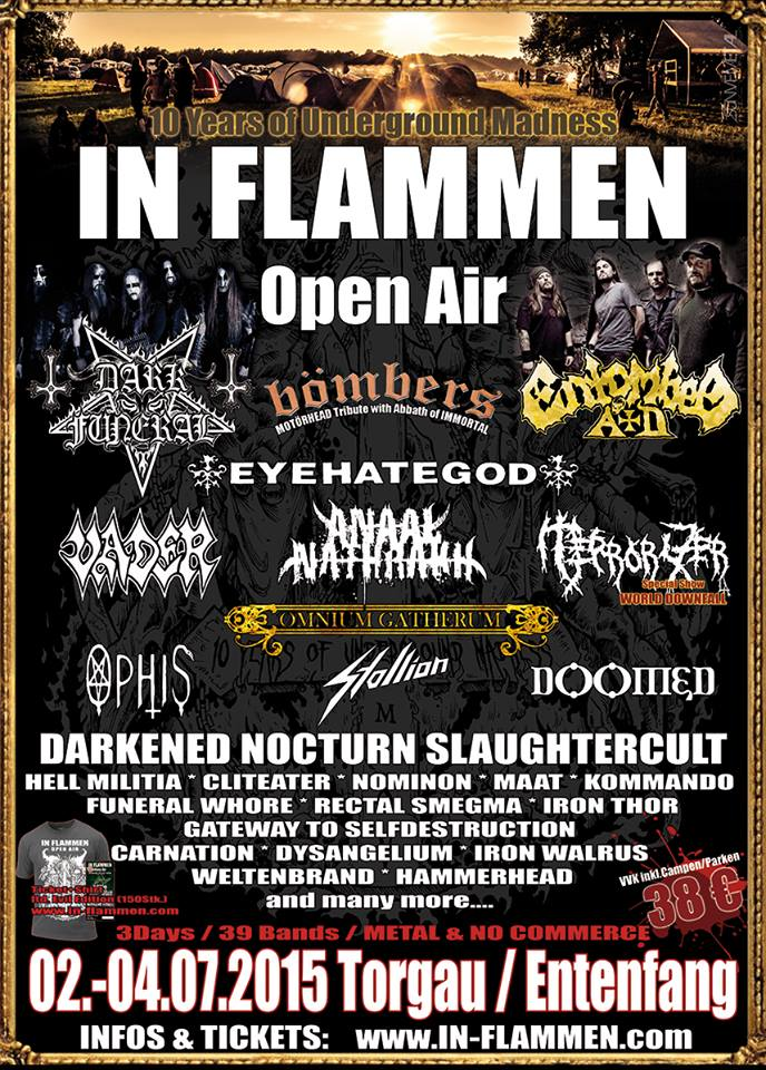 10. In Flammen Open Air – Vorbericht