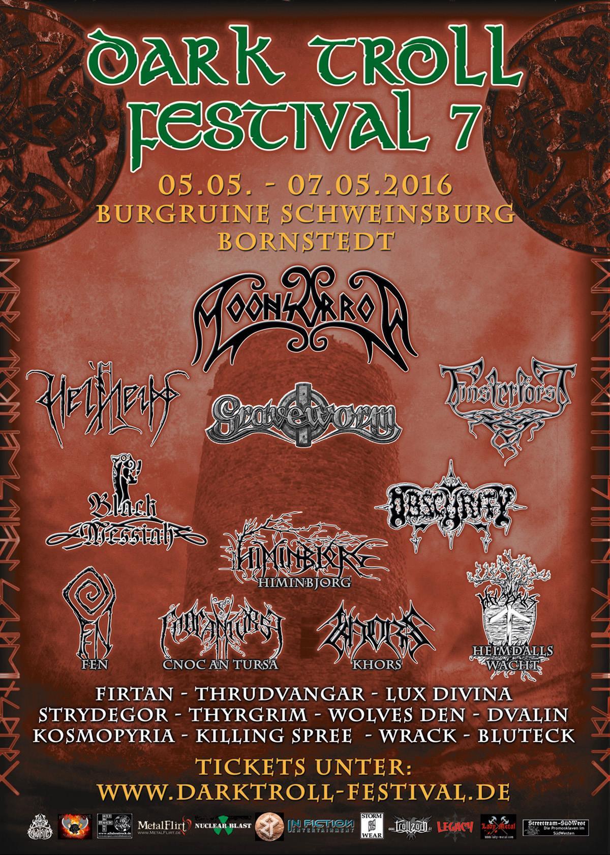 Vorbericht: VII. Dark Troll Festival (05. – 07.05.2016)