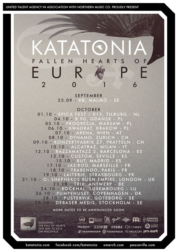 Katatonia Tour 2016, Markthalle Hamburg