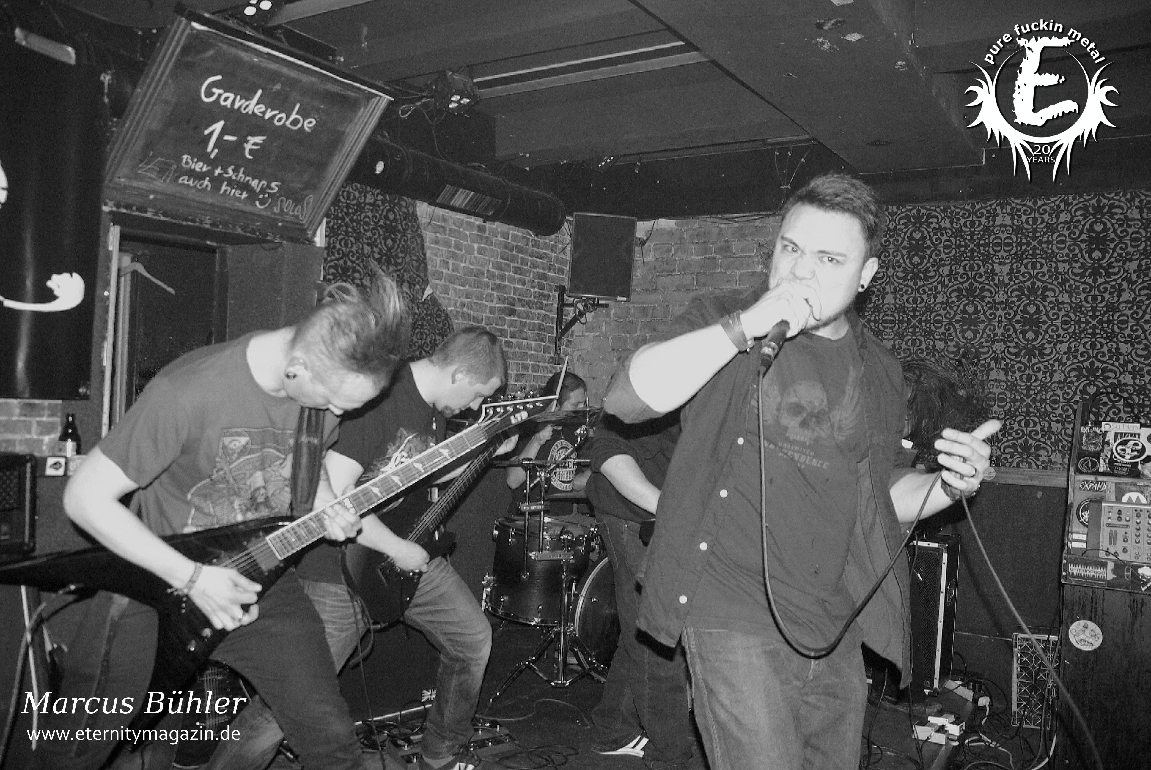 Pentarium, Catalyst, World Of Sickness – Hamburg, Pooca Bar 09.02.2016