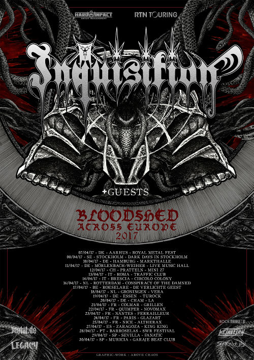 Inquisition, Pillorian, Valborg @ Marx Hamburg, 10.04.2017