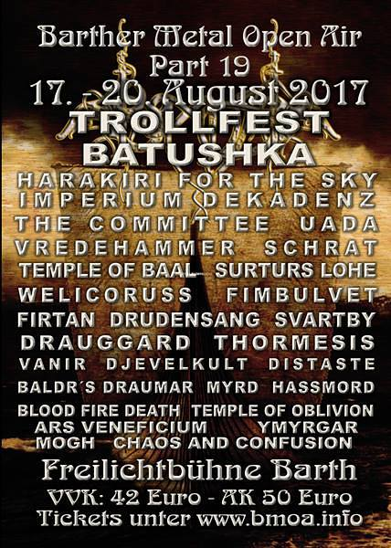 Barther Metal Open Air 2017