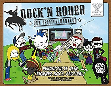 Spielrezension: Rock'n Rodeo – Der Festivalmanager (Brettspiel)