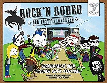 Spielrezension: Rock'n Rodeo – Der Festivalmanager (Brettspiel)