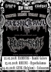 triple flesh tour 2018