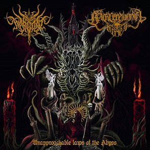 Wargoat & Black Ceremonial Kult – Unapproachable Laws Of The Abyss 4/6