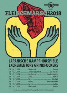 Excrementory Grindfuckers - Fleischmarsch 2018