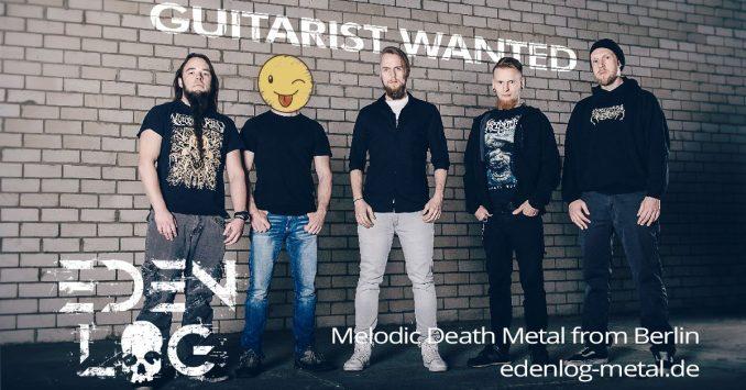 Eden Log - Gitarrist gesucht