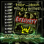 Der Eternity Podcast auf Spotify, Apple Podcasts und anderswo