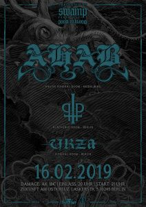 Ahab, Praise The Plague, Urza Konzert Berlin 16.02.19