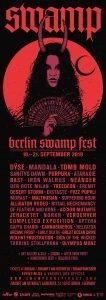 Berlin Swamp Fest Flyer vorne