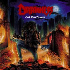 Darkness - First class violence Cover